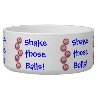 Bingo! Shake those Balls! Dog Bowls