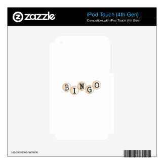 Bingo Decal For iPod Touch 4G