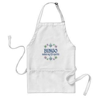 Bingo Sparkles Adult Apron