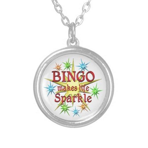 Bingo Sparkles Custom Necklace