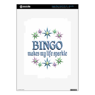 Bingo Sparkles Skins For iPad 3