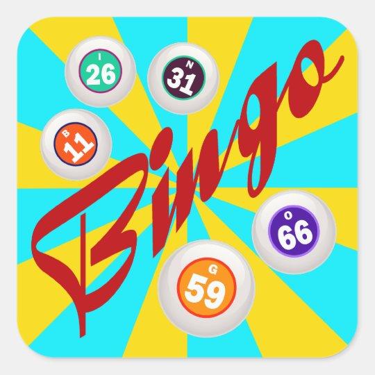 Bingo Square Sticker