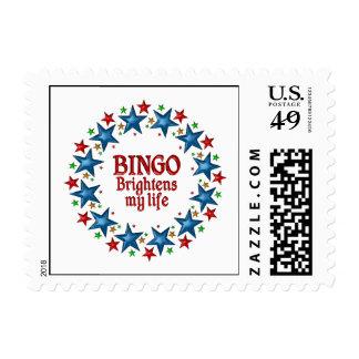 Bingo Stars Postage Stamp