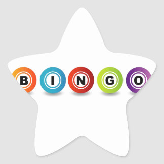 Bingo Star Sticker