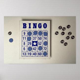 Bingo the gambling game posters