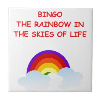 bingo tile