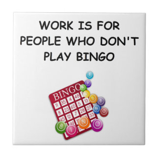 bingo ceramic tiles