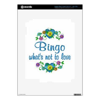 Bingo to Love Decals For iPad 3
