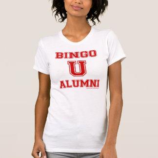 Bingo U Alumni Ladies Casual Scoop shirt