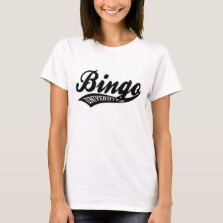 Bingo University Sports swish logo ladies shirt