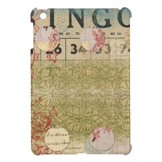 Bingo Vintage Collage ARt Cover For The iPad Mini