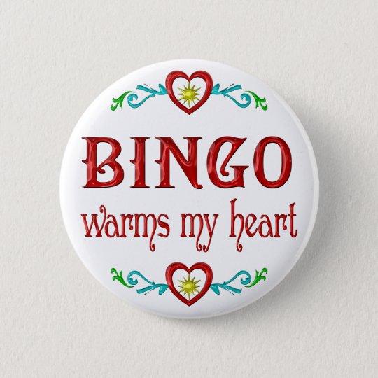 BINGO Warms My Heart Button