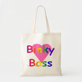 Binky Boss Baby Tote Canvas Bags