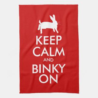 ¡BINKY ENCENDIDO! TOALLAS DE MANO
