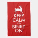 BINKY ON! TOWELS