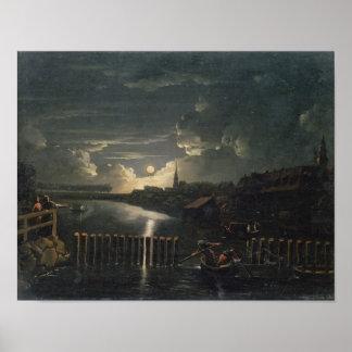 Binnenalster, 1764 poster