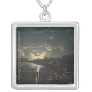 Binnenalster, 1764 silver plated necklace