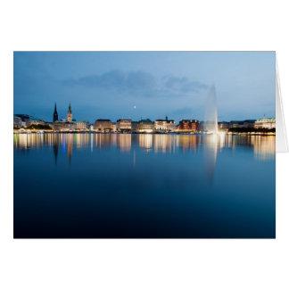 Binnenalster at Hamburg Card