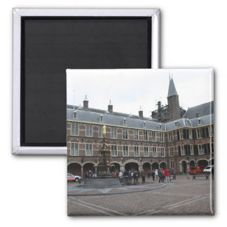 Binnenhof 2 Inch Square Magnet
