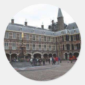 Binnenhof Classic Round Sticker