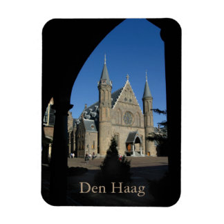 Binnenhof en Ridderzaal, Den Haag Rectangular Photo Magnet