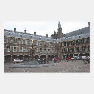 Binnenhof Rectangular Sticker