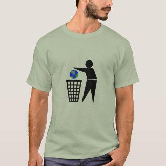 Binning the Earth Environmental Issues t-shirt