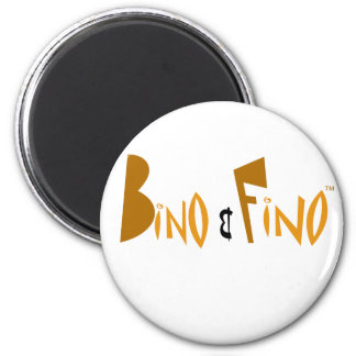 Bino and Fino Logo Magnet
