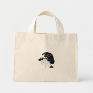 Binocular glasses tote bag
