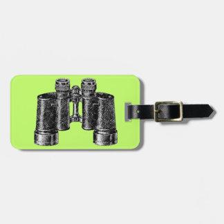 Binocular Pop Art Luggage Tags