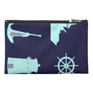 Binoculars Anchor Ship s Helm and Lighthouse Travel Accessories Bag