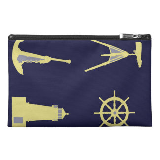 Binoculars, Anchor, Ship's Helm and Lighthouse Travel Accessory Bags
