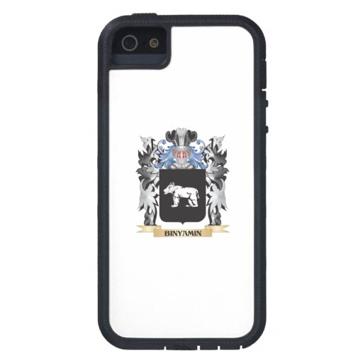 Binyamin Coat of Arms - Family Crest Cover For iPhone 5