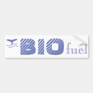 Bio combustible su pegatina para el parachoques pegatina para auto
