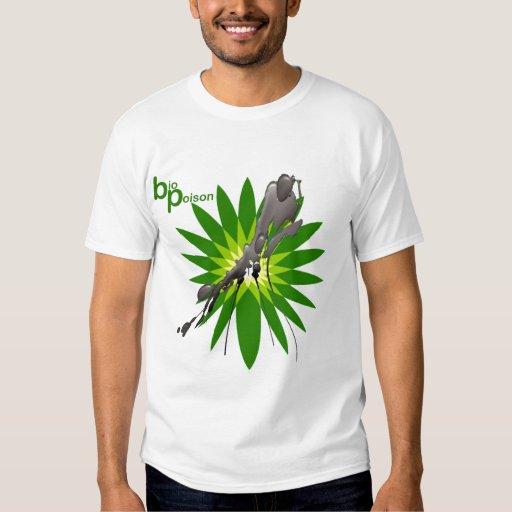 bio derrame de petróleo del golfo poison2 remeras