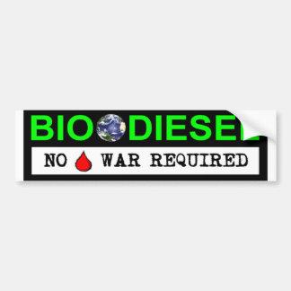 Bio Diesel Car Bumper Sticker