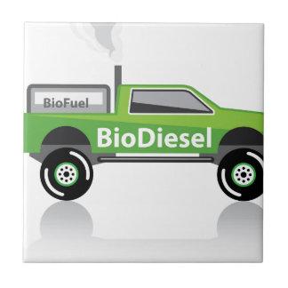 Bio diesel Pickup truck Tile