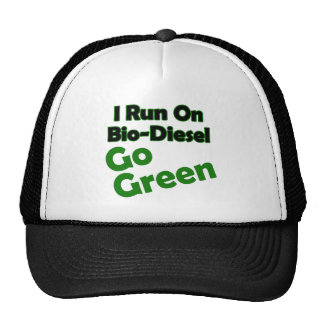 bio diesel trucker hat