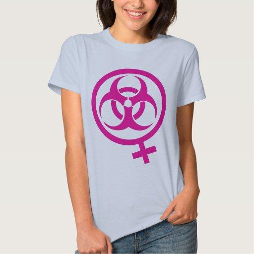 bio femme del peligro camiseta