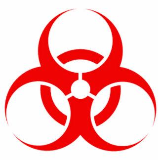 Bio-hazard acrylic cut out