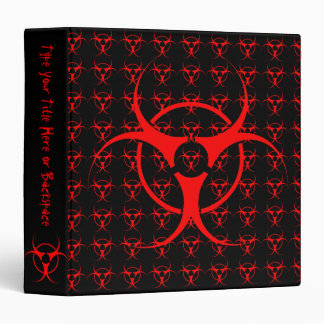 Bio-hazard Binder Biohazard Photo Album Customize