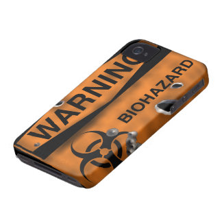 Bio Hazard BlackBerry Bold Case-Mate Barely There iPhone 4 Case-Mate Cases