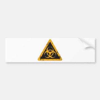 Bio Hazard Car Bumper Sticker