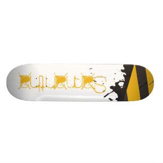 Bio Hazard Caution Tape Comp Skateboard