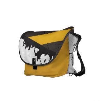 Bio Hazard Caution Tape Crime Scene Messenger Bag
