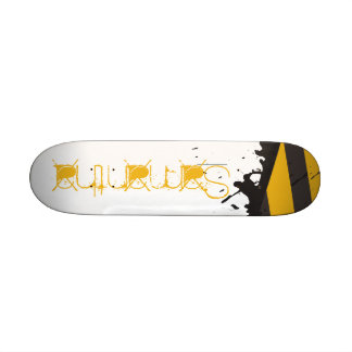 Bio Hazard Caution Tape Mini Skateboard