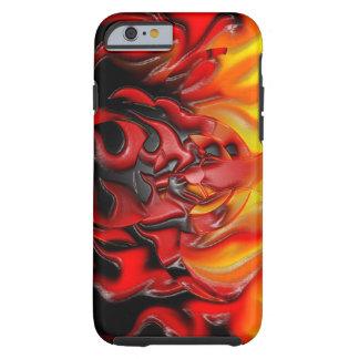 Bio Hazard Flames iPhone 6 Tough Tough iPhone 6 Case