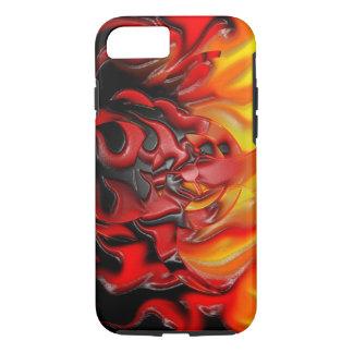 Bio Hazard Flames iPhone 7 Tough iPhone 7 Case