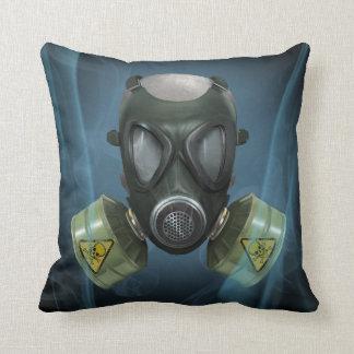 Bio Hazard Gasmask Cushion