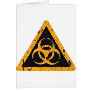 Bio Hazard Greeting Cards